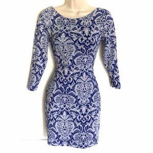 ASOS Damask Jacquard Mini Dress 💙